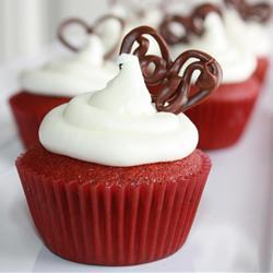 Red velvet cupcake pic