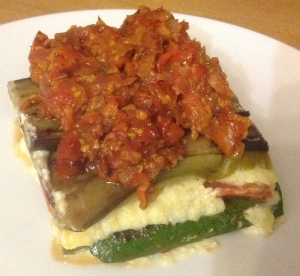Vegetable lasagne